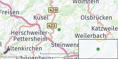Google Map of Neunkirchen am Potzberg