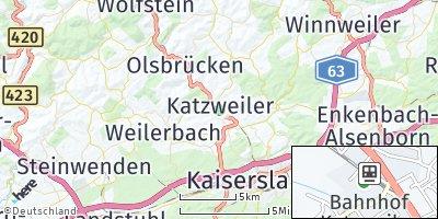 Google Map of Katzweiler