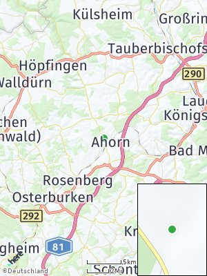 Here Map of Ahorn