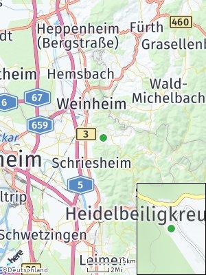 Here Map of Heiligkreuz