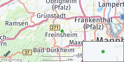 Google Map of Freinsheim