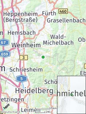 Here Map of Wünschmichelbach
