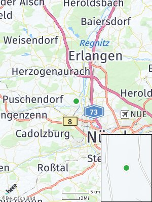 Here Map of Flexdorf