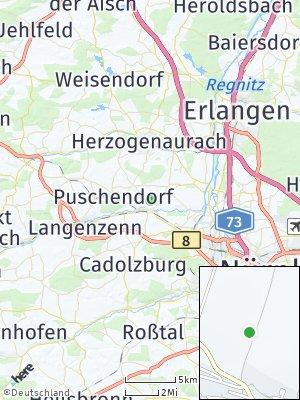 Here Map of Veitsbronn