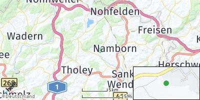 Google Map of Oberthal