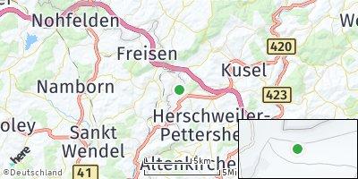 Google Map of Herchweiler