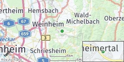 Google Map of Gorxheimertal
