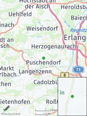 Here Map of Puschendorf