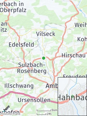 Here Map of Hahnbach