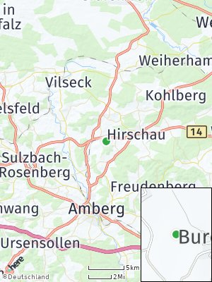 Here Map of Gebenbach
