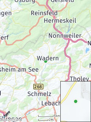 Here Map of Wadern