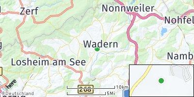 Google Map of Wadern