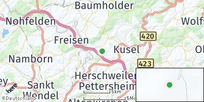 Google Map of Pfeffelbach