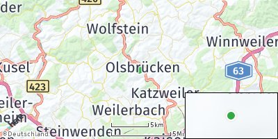Google Map of Olsbrücken