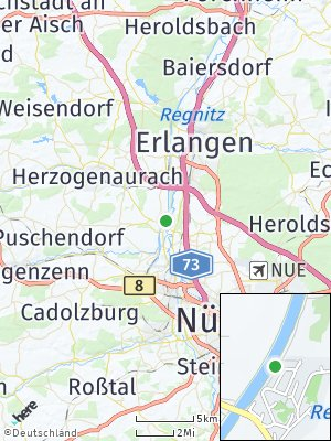 Here Map of Hüttendorf