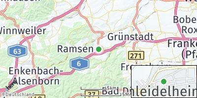 Google Map of Hettenleidelheim