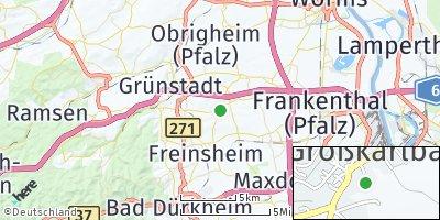 Google Map of Großkarlbach