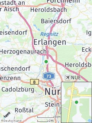 Here Map of Königsmühle