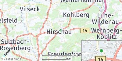 Google Map of Hirschau