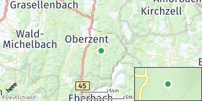 Google Map of Sensbachtal