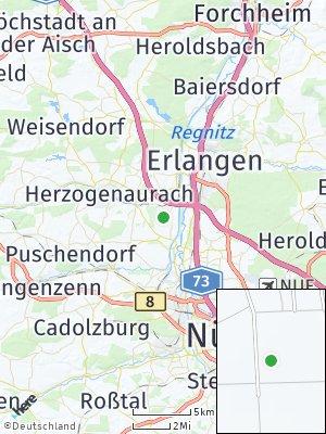 Here Map of Kriegenbrunn