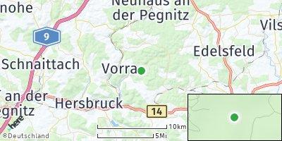 Google Map of Hirschbach