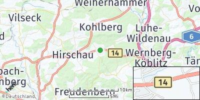 Google Map of Schnaittenbach