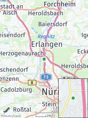 Here Map of Eltersdorf