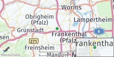 Google Map of Heuchelheim