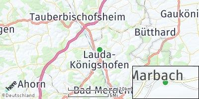 Google Map of Marbach