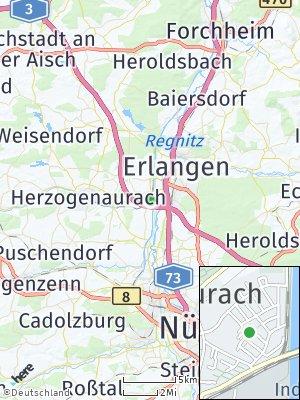 Here Map of Frauenaurach