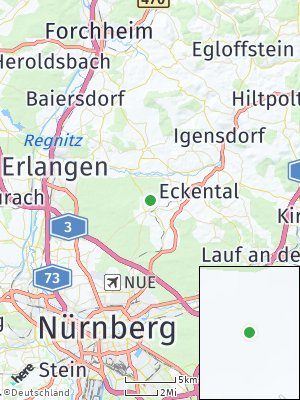 Here Map of Kalchreuth