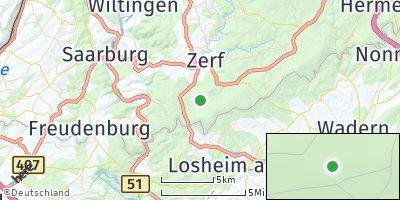 Google Map of Greimerath bei Trier
