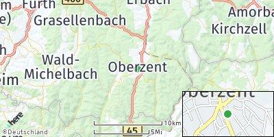 Google Map of Beerfelden