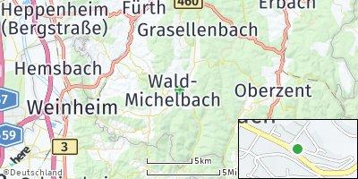 Google Map of Wald-Michelbach