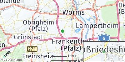 Google Map of Großniedesheim