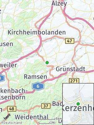 Here Map of Kerzenheim