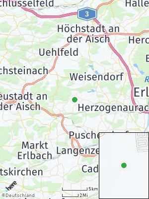 Here Map of Oberreichenbach