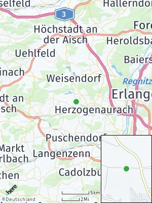 Here Map of Aurachtal