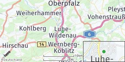 Google Map of Luhe-Wildenau