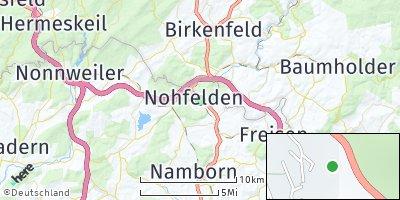 Google Map of Nohfelden