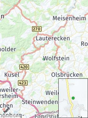 Here Map of Oberweiler im Tal