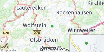 Google Map of Niederkirchen