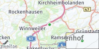 Google Map of Börrstadt