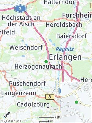 Here Map of Haundorf