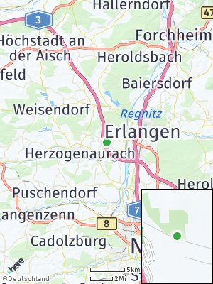 Here Map of Steudach
