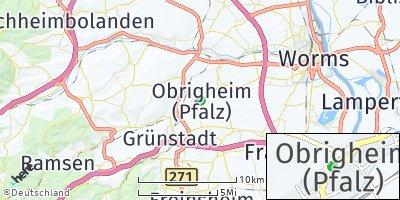 Google Map of Obrigheim