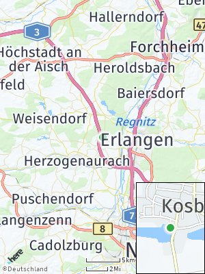 Here Map of Kosbach