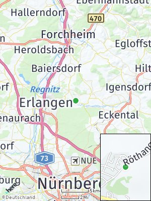 Here Map of Uttenreuth