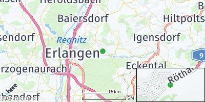 Google Map of Uttenreuth